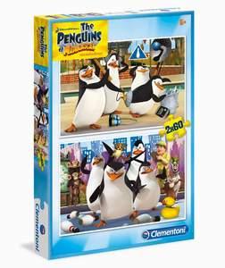 Clementoni Puzzle  2x60 Pinguins