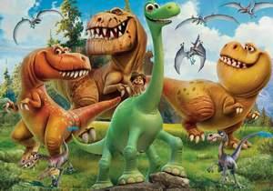 Clementoni Puzzle 100 Dobrý dinosaurus