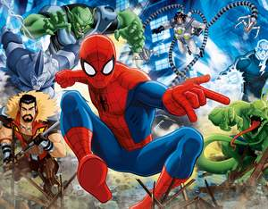 Clementoni Puzzle 100 Spider-Man Sinister Six