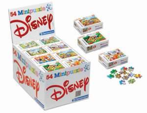 Clementoni Displej mini 54 puzzle Princezny