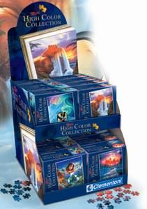 Clementoni Displej 24ks mini 260 puzzle High color collection