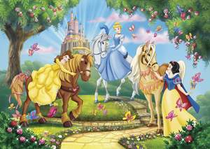 Clementoni Puzzle 24 Maxi Princess & Horses