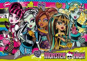 Clementoni Puzzle 104 Monster High