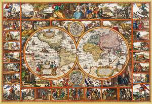 Clementoni Puzzle 2000 Magna carta