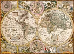 Clementoni Puzzle 3000 Mappa antica