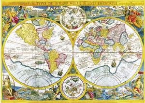 Clementoni Puzzle 4000 Antická mapa