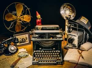 Clementoni Puzzle 500 Písací stroj