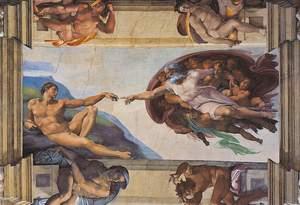 Clementoni Puzzle 6000 Michelangelo, La creazione dell'uomo