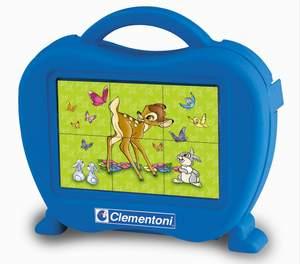Clementoni 6 kociek Bambi