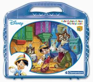 Clementoni 12 kociek Pinokio