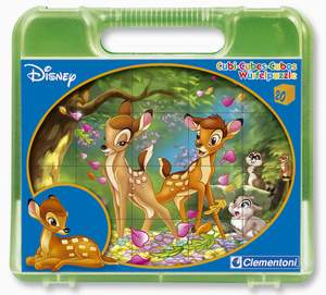 Clementoni 20 kociek Bambi