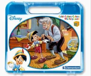 Clementoni 20 kociek Pinokio
