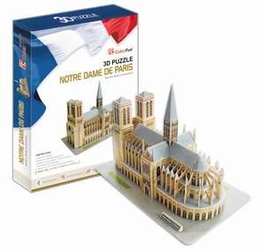 CubicFun Puzzle 3D Notre Dame de Paris