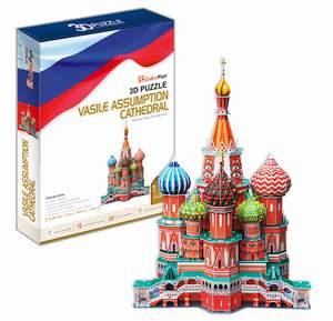 CubicFun Puzzle 3D Chrám Vasila Blaženého