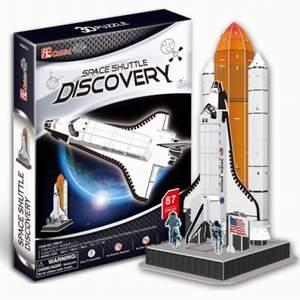 CubicFun Puzzle 3D Raketoplán Discovery