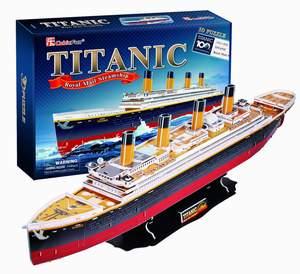 CubicFun Puzzle 3D Titanic XL