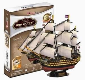 CubicFun Puzzle 3D HMS Victory