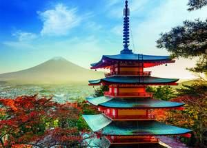 Dino Puzzle 1500 Pagoda