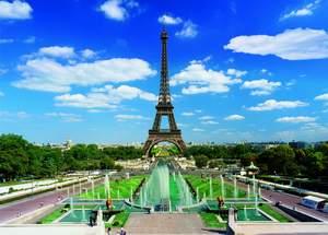 Dino Puzzle 3000 Eiffelova veža
