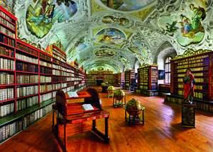 Dino Puzzle 3000 Strahovská knižnica
