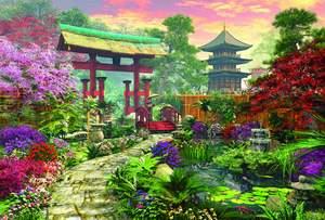 Educa Puzzle 3000 Japanese Garden