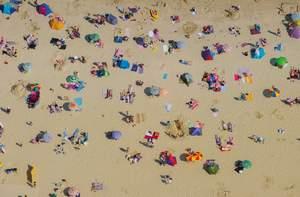 Piatnik Puzzle 1000 Pláž zhora
