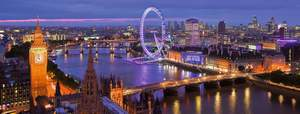 Ravensburger Puzzle 1000 Nočný Londýn