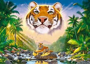 Schmidt Puzzle 3000  Král džungle