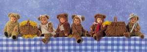Schmidt Puzzle 1000  Piknik plyšových medvedíkov