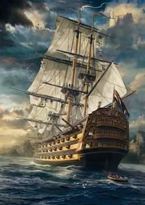 Schmidt Puzzle 1000 Sails set