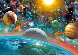 Schmidt Puzzle 1000 Vesmír
