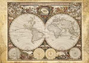 Schmidt Puzzle 2000 Historická mapa