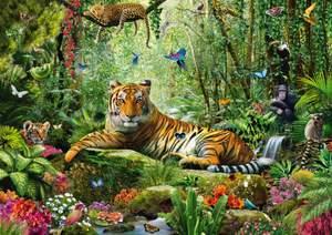 Schmidt Puzzle 1500 Tiger v džungli