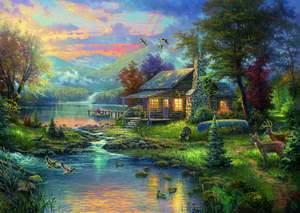 Schmidt Puzzle 1000 Nature's Paradise